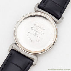 1949 Vintage Hamilton Clinton Stainless Steel Watch
