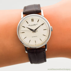 1960 Vintage International Watch Co. (IWC) Automatic Stainless Steel Watch