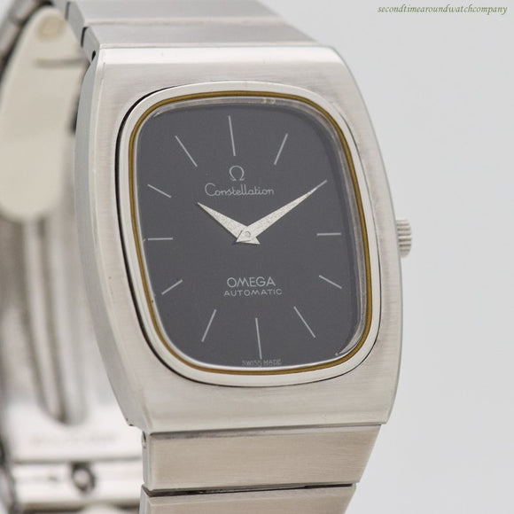 1973 Vintage Omega Constellation Reference 155.022/355.0815 Stainless Steel Watch (# 12670)
