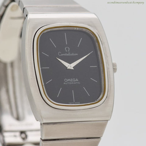 1973 Vintage Omega Constellation Reference 155.022/355.008415 Stainless Steel Watch