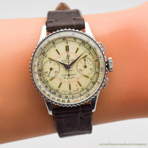 1947 Vintage Breitling Chronomat Reference 769/217012 Stainless Steel Watch