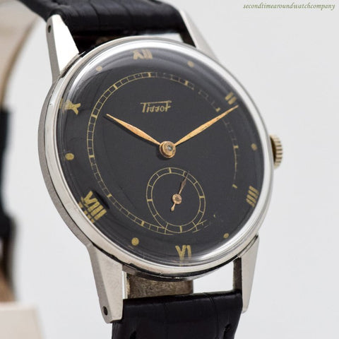 1950's Vintage Tissot Stainless Steel Watch