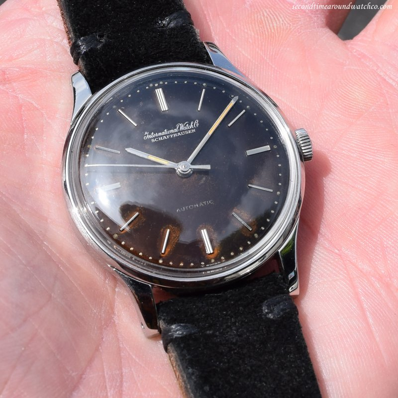 1964 Vintage International Watch Co. (IWC) Ref. 309-A Stainless Steel Watch