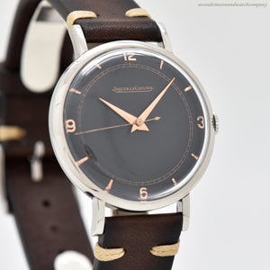 1940's Vintage Jaeger LeCoultre Stainless Steel Watch