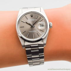 1979 Vintage Rolex Date Automatic Ref. 1500 Stainless Steel Watch