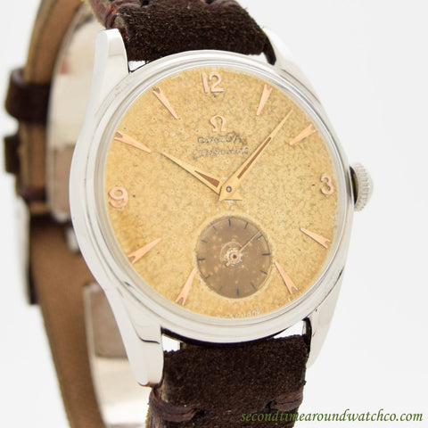 1954 Vintage Omega Seamaster Ref. 2937-3 Stainless Steel Watch
