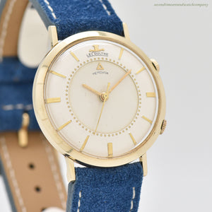 1960's Vintage Jaeger LeCoultre Memovox Alarm Reference 3024 10k Yellow Gold Filled Watch