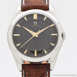 1952 Vintage Omega Reference 2504-14-SC Stainless Steel Watch
