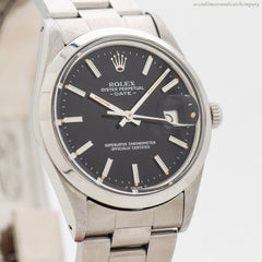 1981 Vintage Rolex Date Automatic Reference 15000 Stainless Steel Watch