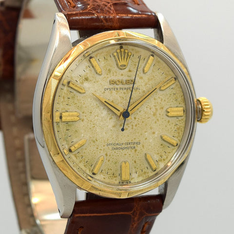 1955 Rolex Oyster Perpetual Stainless Steel Ref. 6565