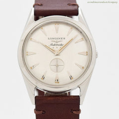 1956 Vintage Longines Automatic Ref. 2220-P Stainless Steel Watch