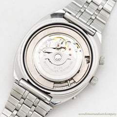 1971 Vintage Wittnauer 2000/W102 Stainless Steel Watch