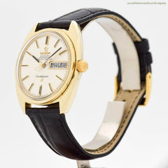 1968 Vintage Omega Constellation Ref. 168.029 14k Yellow Gold Shell & Stainless Steel Watch