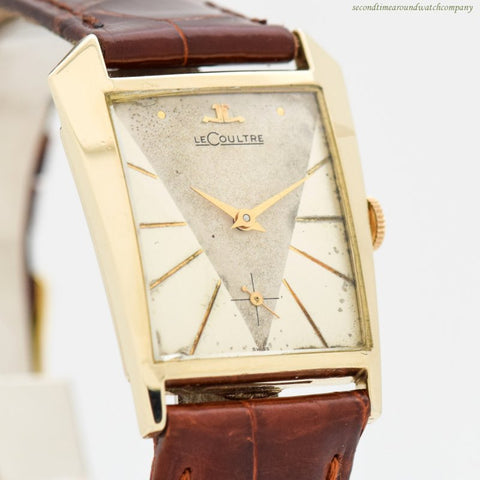 1950's Vintage Jaeger LeCoultre 10k Yellow Gold Filled Watch