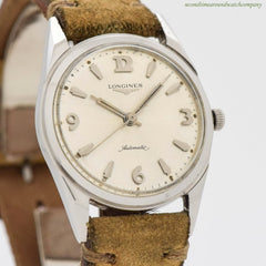 1961 Vintage Longines Automatic Ref. 2534 Stainless Steel Watch