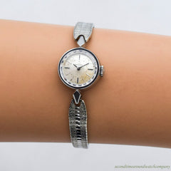 1962 Vintage Omega Ladies Reference 511.107 Stainless Steel Watch