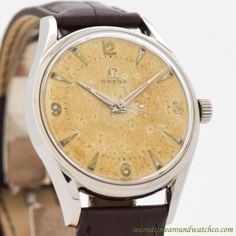 1957 Vintage Omega Stainless Steel Watch