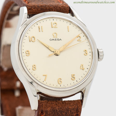 1955 Vintage Omega Ref. 2792-6-SC Stainless Steel Watch