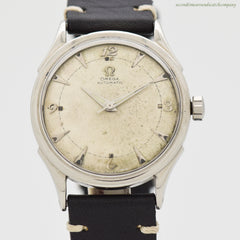 1951 Vintage Omega Automatic Ref. 2635-1 Stainless Steel Watch