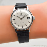 1968 Vintage Omega Geneve Automatic Ref. 166.037 Stainless Steel Watch