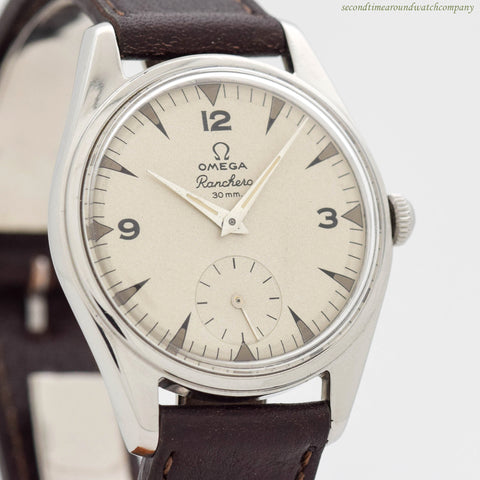 1958 Vintage Omega Ranchero 30mm Ref. 2990-1 Stainless Steel Watch