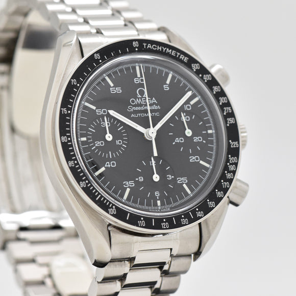 1998 Omega Speedmaster Automatic Reference 175.0032.1 Stainless Steel Watch