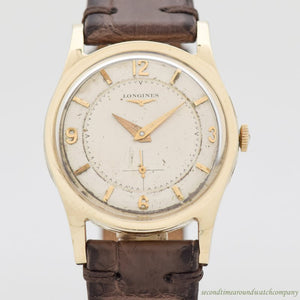 1954 Vintage Longines Referece 2263-1 10k Yellow Gold Filled Watch