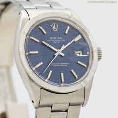 1969 Vintage Rolex Date Ref. 1501 Automatic Stainless Steel Watch
