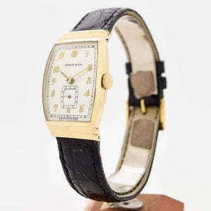 1940's Vintage Tiffany & Co. 14k Yellow Gold Watch