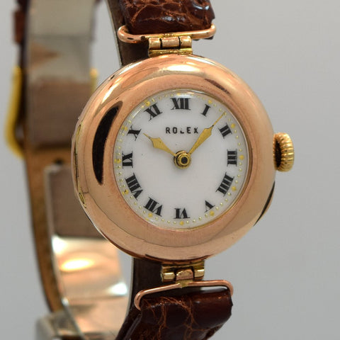 1910's Rolex Ladies Rose Gold, 9kt.