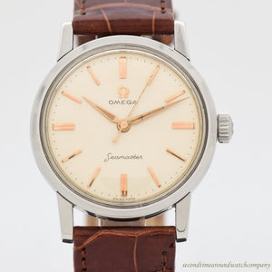 1959 Vintage Omega Seamaster Reference 2964-3-SC/2970 Stainless Steel Watch