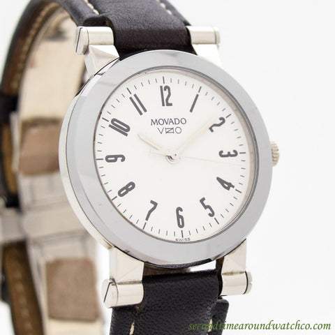 1990's Movado Vizio Ref. 83-65-868-7 Stainless Steel Watch
