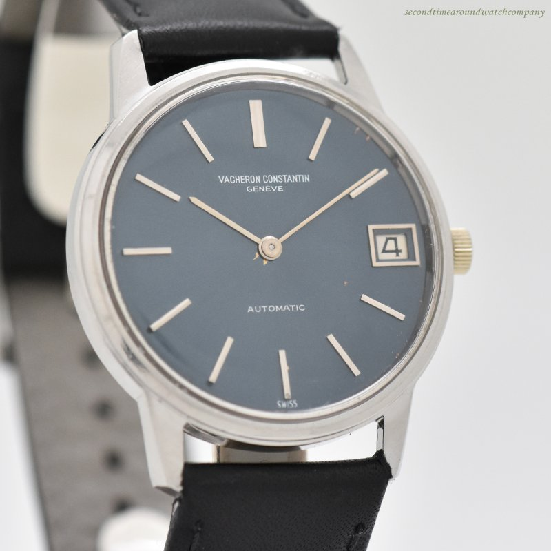 1985 Vintage Vacheron Constantin Reference 7592/0 Stainless Steel Watch