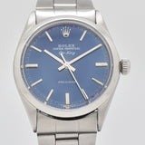 1969 Vintage Rolex Air-King Reference 5500 Stainless Steel Watch