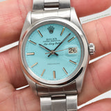 1970 Vintage Rolex Air-King Date Reference 5700 Stainless Steel Watch