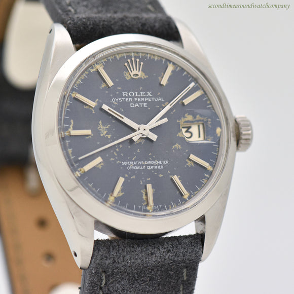 1965 Vintage Rolex Date Automatic Ref. 1500 Stainless Steel Watch