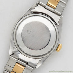 1966 Vintage Rolex Date Automatic Ref. 1550 Stainless Steel Watch