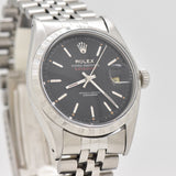 1958 Vintage Rolex Datejust Reference 6605 Stainless Steel Watch (# 13442)