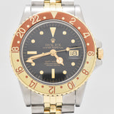 1977 Vintage Rolex GMT-Master Reference 1675 18K Yellow Gold & Stainless Steel Watch