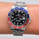 1981 Vintage Rolex GMT-Master Reference 16750 Stainless Steel Watch