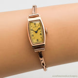 1930's Vintage Rolex Ladies 9K Rose Gold Watch