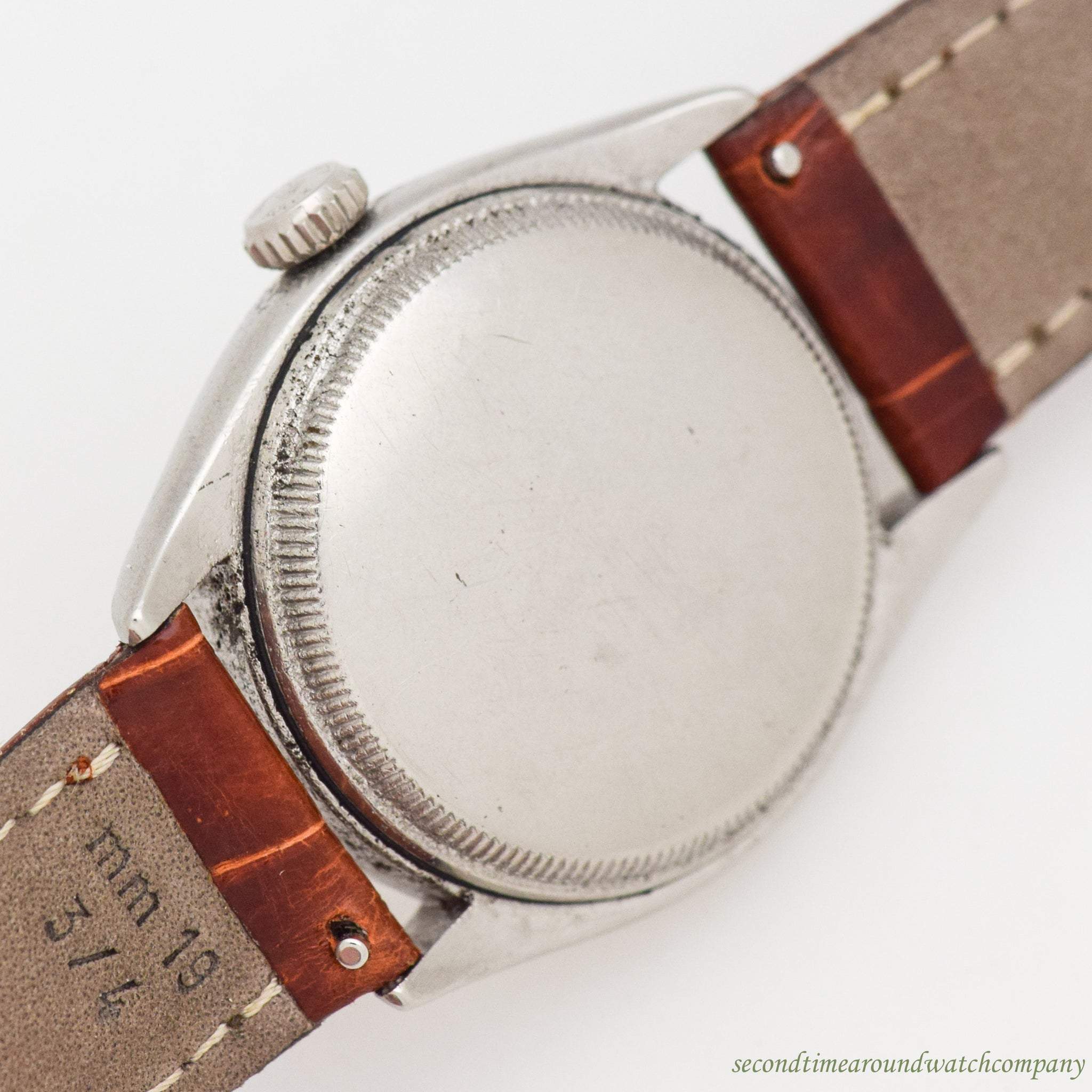 1952 Vintage Rolex Oyster Perpetual Ref. 6084 Stainless Steel Watch