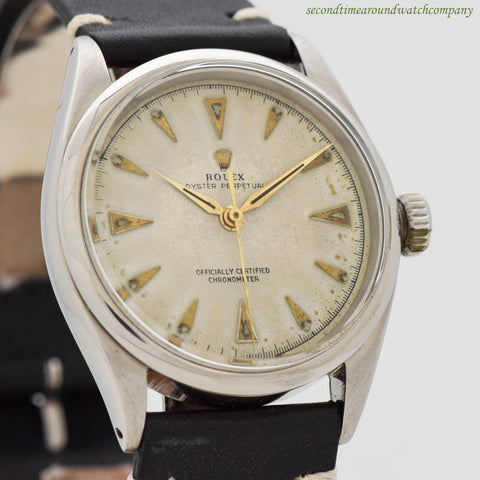 1951 Vintage Rolex Oyster Perpetual Stainless Steel Ref. 6284