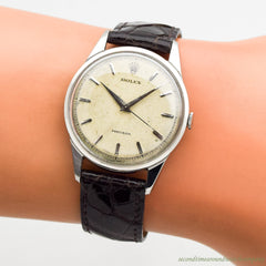 1950's Vintage Rolex Precision Ref. 8893 Stainless Steel Watch