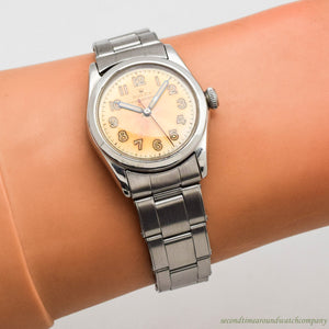 1950's Vintage Rolex Speedking Ref. 4220 Stainless Steel Watch