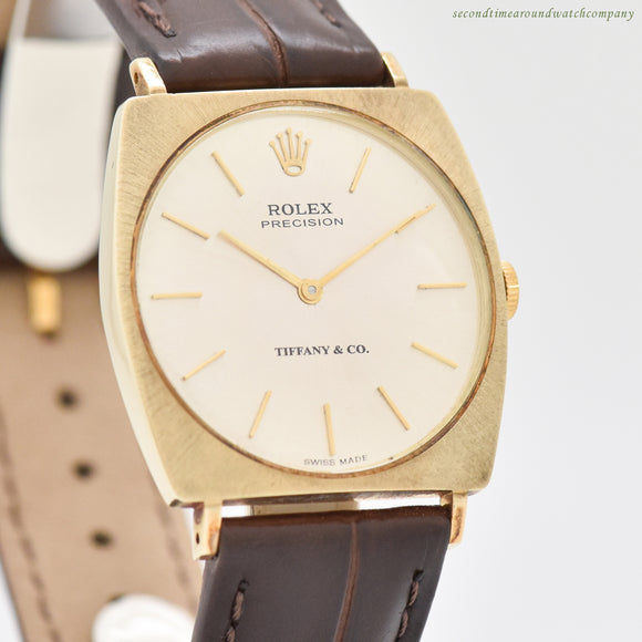 1970's era Rolex Precision Ref. 36904 14k Yellow Gold Watch (# 13265)