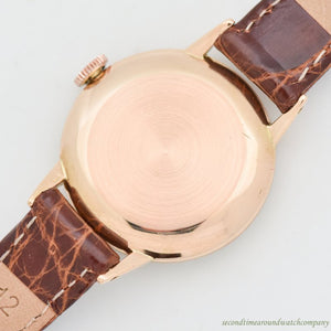 1960's-70's Vintage Rolex Precision Reference 4989 18k Rose Gold Watch