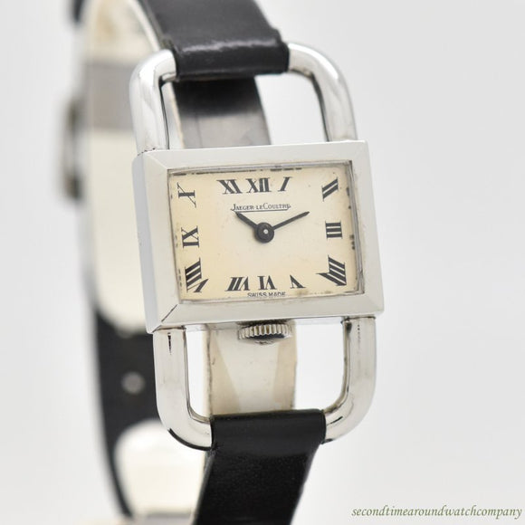 1960's Vintage Jaeger LeCoultre Ladies Stainless Steel Watch