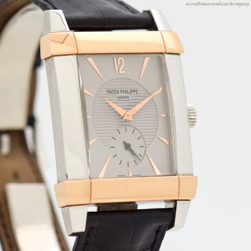 2005 Patek Philippe Gondolo Ref. 511-PR-001 18K Rose Gold & Platinum Watch