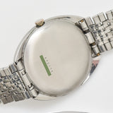 1971 Vintage Universal Geneve Cushion-shaped Stainless Steel Watch